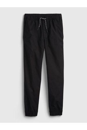GAP Černé klučičí kalhoty everyday joggers