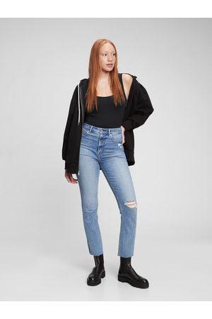 GAP Modré dámské džíny vintage slim
