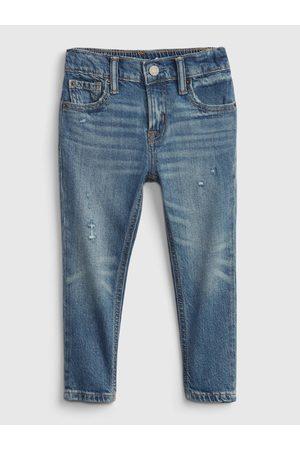 GAP Modré klučičí džíny džinsy easy taper easy taper