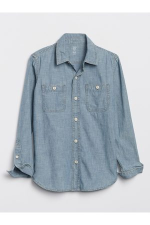 GAP Chlapci Košile - Klučičí košile hambray carpenter shirt