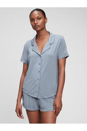 GAP Šedé dámské pyžamo Krátké z modal
