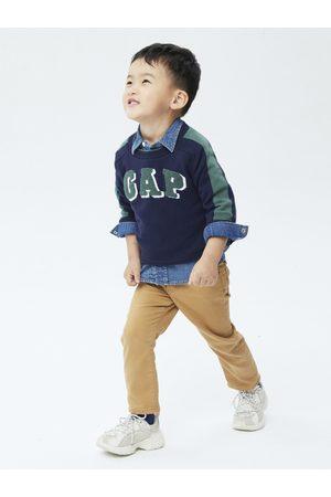 GAP Chlapci Svetry - Modrý klučičí svetr logo