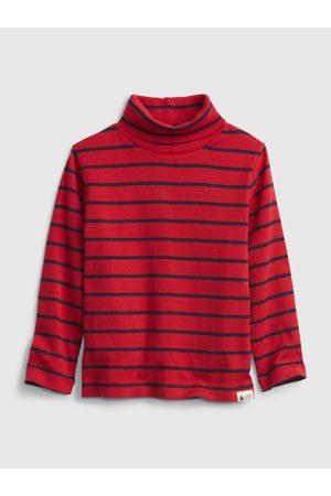 GAP Červené klučičí tričko organic tnec