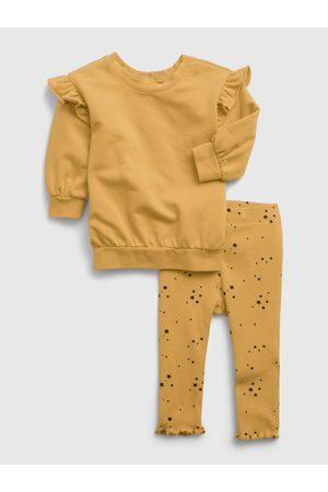 GAP Žlutá holčičí souprava tunic set