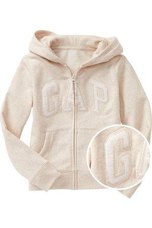 GAP Holčičí mikina Logo zip hoodie in fleece