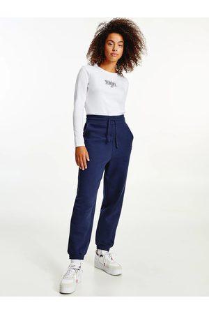 Tommy Jeans Ženy Trička - Dámské bílé triko ESSENTIAL LOGO