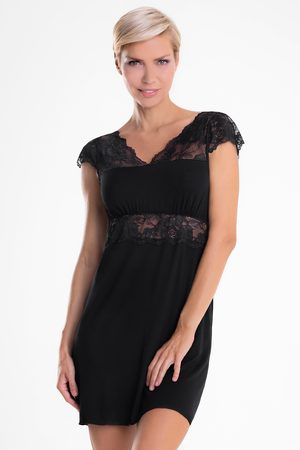 Hamana Elegantní košilka Helen Black