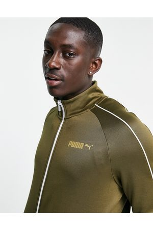 Puma Suede track jacket in green