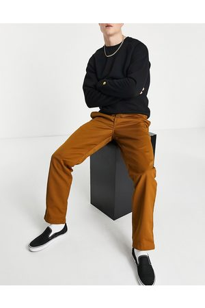 Carhartt WIP Muži Chino - Master relaxed taper chinos in brown