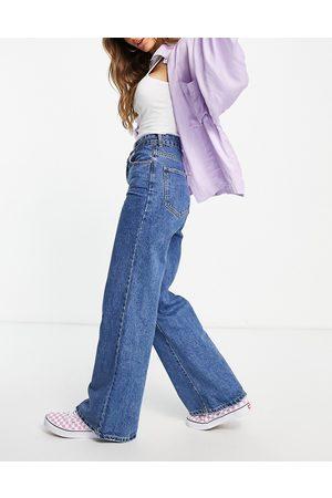 Cotton:On Wide leg jeans in midwash blue