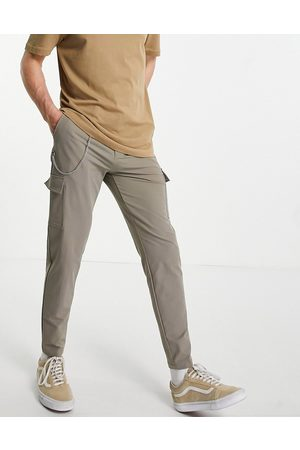 Mauvais Cargo trousers in taupe grey