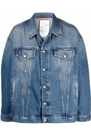 Acne Studios Drop-shoulder denim jacket