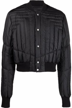 Rick Owens Muži Bombery - Quilted bomber jacket