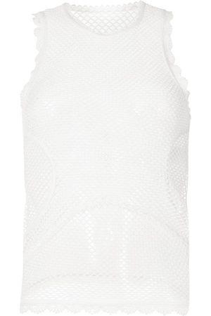 Dion Lee Net lace tank top