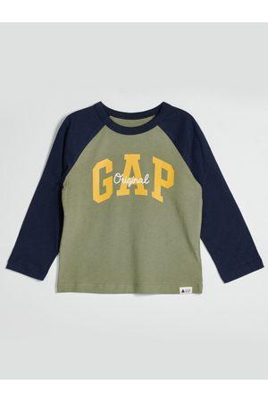 GAP Zelené klučičí tričko s logem