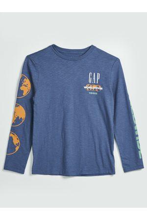 GAP Modré klučičí tričko 1969
