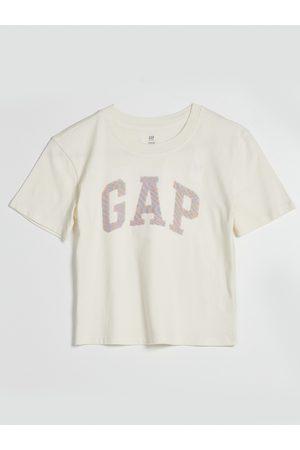 GAP Smetanové holčičí tričko s logem