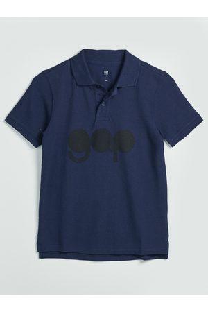 GAP Modré klučičí polo tričko