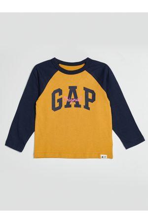 GAP Žluté klučičí tričko s logem