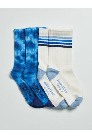 GAP Barevné klučičí vysoké ponožky, 2 páry