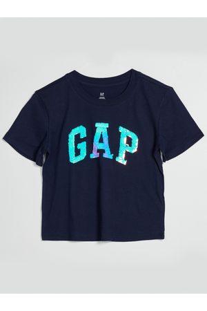 GAP Modré holčičí tričko s logem