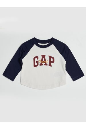 GAP Bílé klučičí tričko s logem