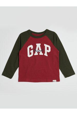 GAP Červené klučičí tričko s logem