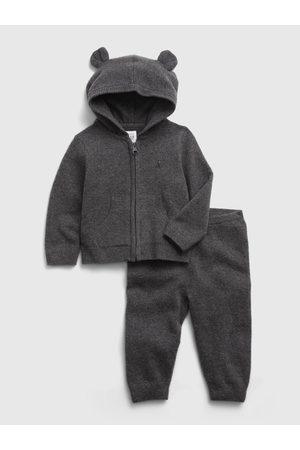 GAP Černá klučičí souprava hoodie sweater