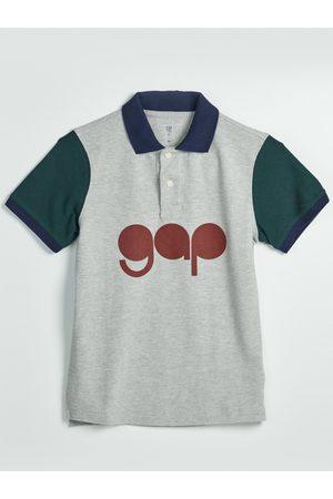 GAP Šedé klučičí polo tričko