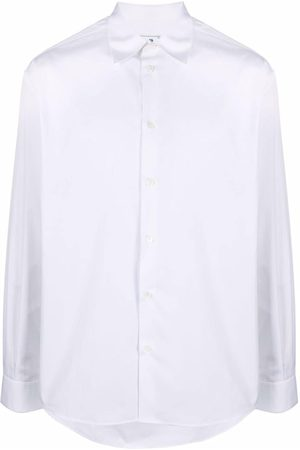 Off-White Text-print long-sleeve shirt