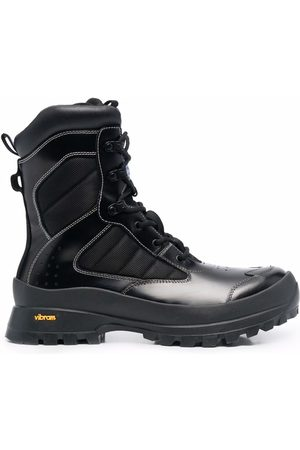 MCQ Lace-up tactical boots