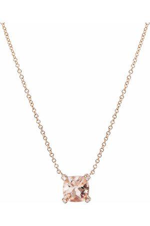 David Yurman Ženy Náhrdelníky - 18kt rose gold Chatelaine® diamond and morganite necklace