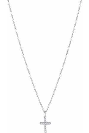 David Yurman Cable Collectibles 18kt white gold diamond necklace