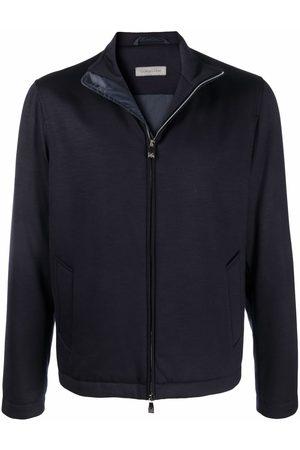 corneliani High-neck wool down-filled jacket