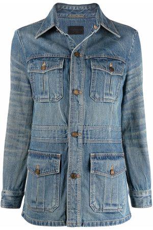 Saint Laurent Multi-pocket denim jacket