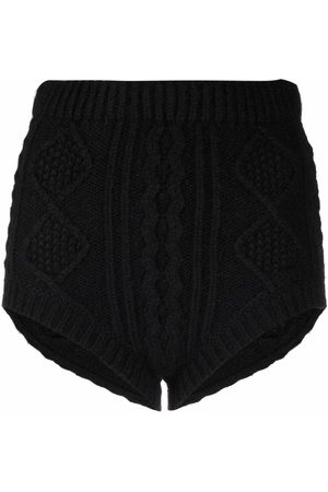 RED Valentino Cable-knit shorts