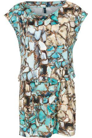 Lygia & Nanny Geode print belted dress
