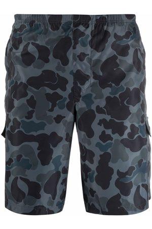 Palm Angels Camouflage-print swim shorts