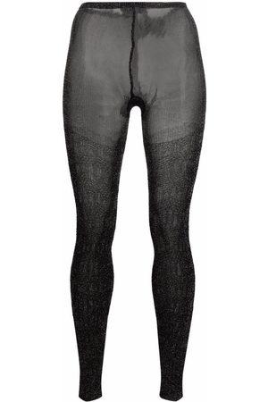 Missoni Ženy Punčochy - Sheer-panel tights