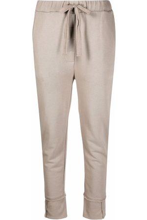 KRISTENSEN DU NORD Ženy Úzké nohavice - Skinny cotton trousers
