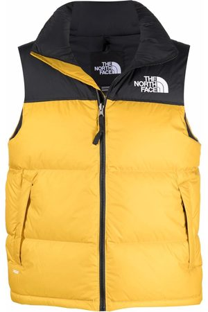 The North Face Logo-embroidered padded gilet