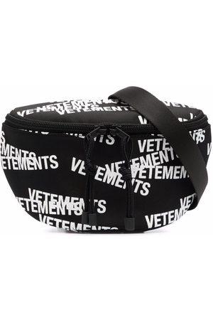 VETEMENTS Logo-print belt bag