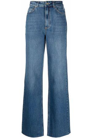 12 STOREEZ Ženy S vysokým pasem - High-rise wide-leg jeans