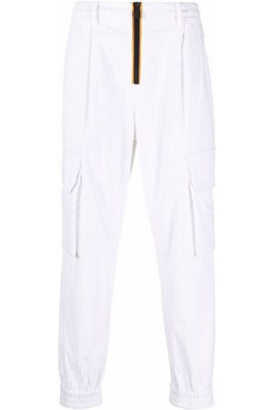 K-Way R&D Ribbed zip-up straight trousers