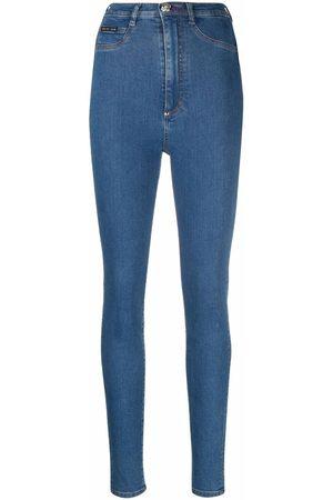 Philipp Plein High-waist jegging jeans