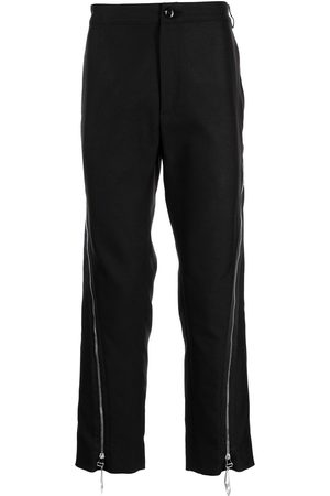 Namacheko Zip-detail straight-leg trousers