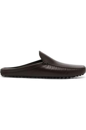 Tod's Muži Pantofle - Sabot leather slippers