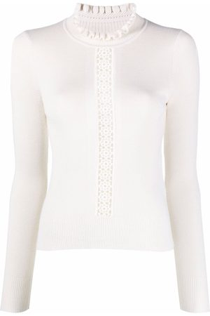 See by Chloé Fitted high-neck jumper