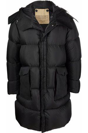 Ten C Hooded puffer coat