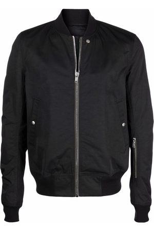Rick Owens Black bomber jacket